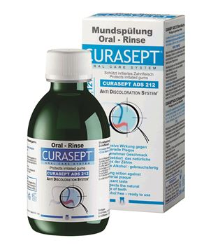 Picture of Curasept 0.12% Mouth Rinse 200ml (code ADS212)